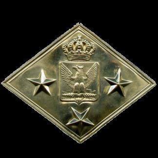 Бляха на патронную суму Гвардейских драгун и Конных гренадер Наполеона