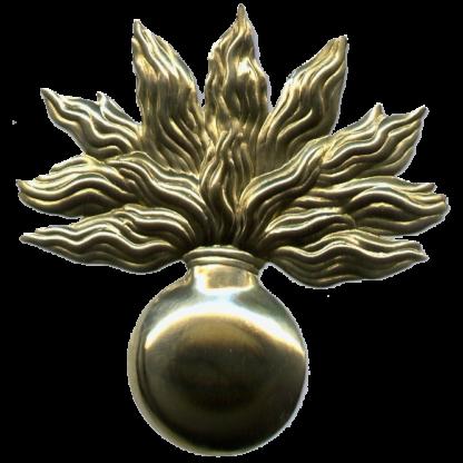 Бляха на патронную суму элитных рот французской армии (гренада большая)