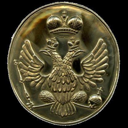 Бляха на русскую патронную суму образца 1797 года (орел в овале)
