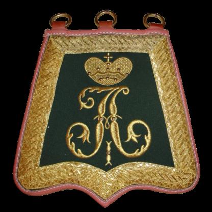 Вышивка на ташку офицера армейского гусарского полка