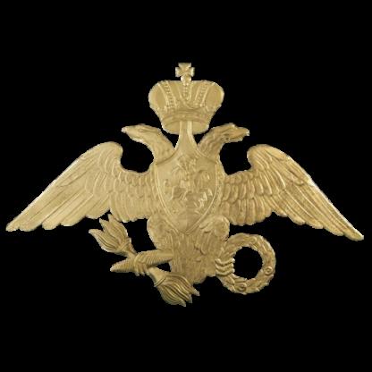 Налобник на русские головные уборы Гвардии образца 1828 года