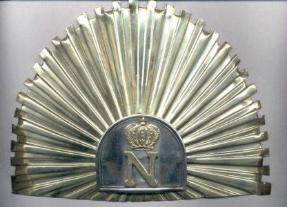 Налобник на уланские шапки Гвардии Наполеона