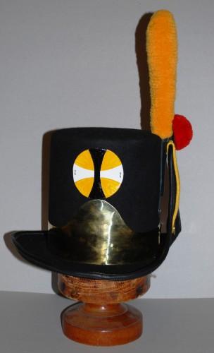Cilindrical Swedish/Danish felt hat (beg XIX century)