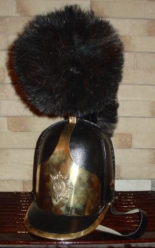 Каска кожаная русской тяжелой кавалерии образца 1803 года