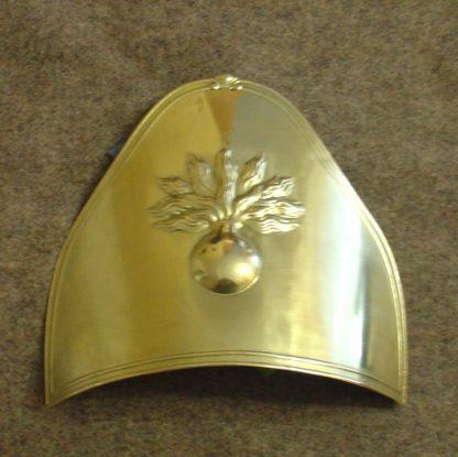 Налобник на меховую шапку гренадер линейной пехоты Наполеона