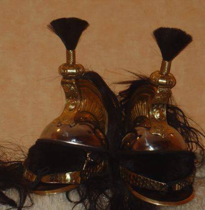 Каска французских кирасир