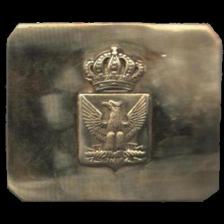 Plaque sur la ceinture des dragons des gardes de Napoléon