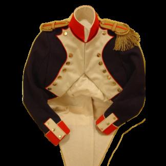 Мундир французского офицера до 1812 года