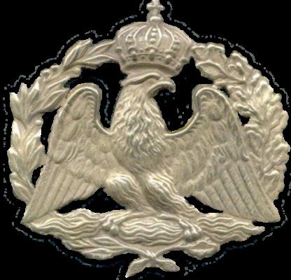 Накладка на горжет офицера Старой Гвардии Наполеона