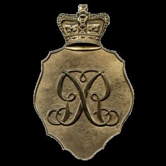 """Plaque de shako britannique """"Belgique"""" M1812"""