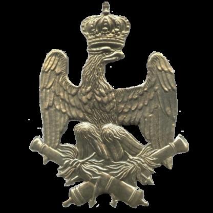 Plaque de shako d'artillerie de la Garde de Napoleon