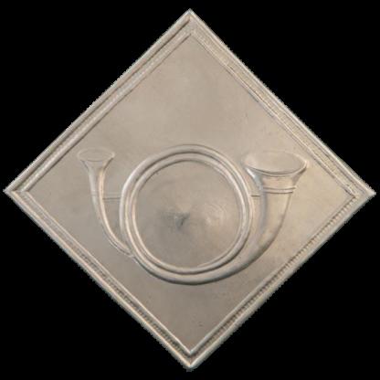 Plaque de shako d'infanterie legere francaise M1810