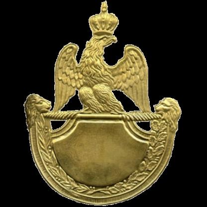 Plaque de shako francais M1812
