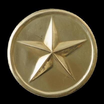Bossetes pour des jugulaires de l'infanterie de ligne (etoile)