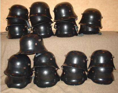 WWI M18 German helmet