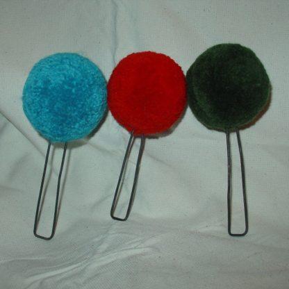 Wool round Pompom