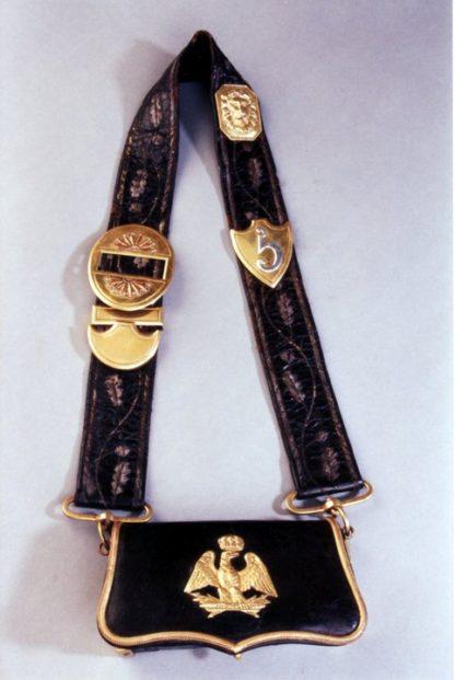 Сума патронная французского офицера легкой кавалерии